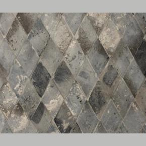Oude Terracotta Diamant Grijs - Blauw