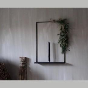 Wandkandelaar Metaal XL