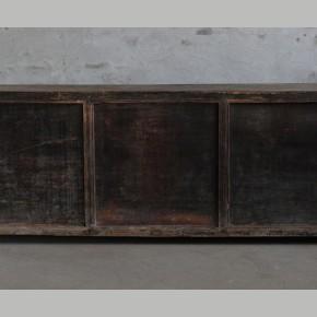 Uniek dressoir met 4 laden en origineel patina