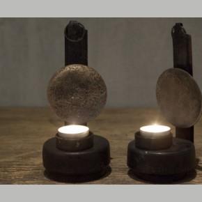 Olie lamp kandelaar