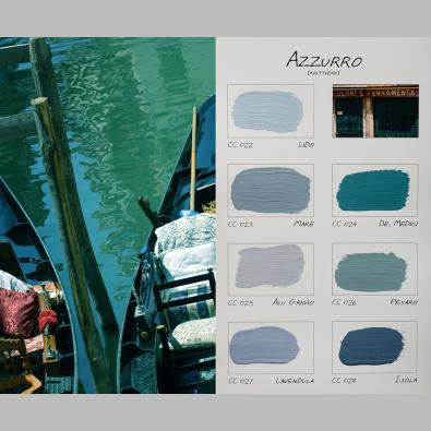Kleurenkaart Azzurro