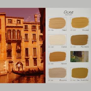 Kleurenkaart Ocre