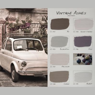 Kleurenkaart Vintage Ashes